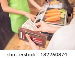 cropped image of a customer... | Shutterstock . vector #182260874