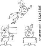 Rabbit Coloring Cartoons 2. Se...