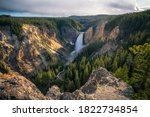 Lower Falls Of The Yellowstone...