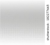 abstract black and white dot... | Shutterstock .eps vector #182277665