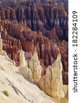 needles in bryce canyon... | Shutterstock . vector #182284109