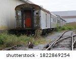 Abandoned Passenger Train Cars...