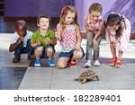 many interracial children with... | Shutterstock . vector #182289401