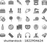 thin line gray tint vector icon ... | Shutterstock .eps vector #1822904624