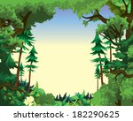 countryside vector background