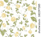 Floral Background  Seamless...