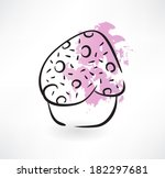 cake grunge icon | Shutterstock .eps vector #182297681