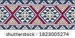 tribal aztec pattern design for ... | Shutterstock .eps vector #1823005274
