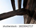 Abandoned Unfinished Wooden...