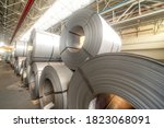 Warehouse Of Metal Coils....