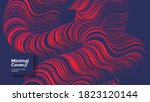 abstract background with line...   Shutterstock .eps vector #1823120144