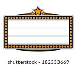 blank cinema billboard design.  ... | Shutterstock . vector #182333669