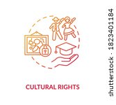cultural rights concept icon.... | Shutterstock .eps vector #1823401184