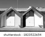 Modern Wooden Beach Huts...