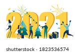 vector illustration little... | Shutterstock .eps vector #1823536574