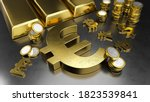 euro stands out from other... | Shutterstock . vector #1823539841