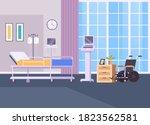 resuscitation hospital room... | Shutterstock .eps vector #1823562581