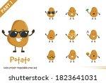 vector cartoon illustration of...   Shutterstock .eps vector #1823641031