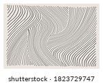 trendy abstract aesthetic... | Shutterstock .eps vector #1823729747