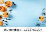 halloween decorations made from ... | Shutterstock . vector #1823761007