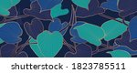 luxury gold nature background... | Shutterstock .eps vector #1823785511