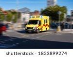 Ambulance Responding To...
