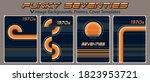 funky seventies  vintage... | Shutterstock .eps vector #1823953721