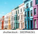Notting Hill London  Colourful...