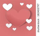 hearts   Shutterstock . vector #182403797