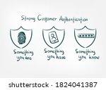 sca strong customer...   Shutterstock .eps vector #1824041387