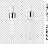 Glass Serum Bottle And Pipette...
