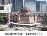 An Image Of Tokyo Station