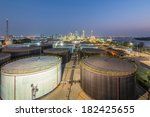 landscape of oil refinery... | Shutterstock . vector #182425655
