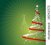 illustration of a christmas... | Shutterstock . vector #18242572