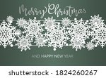 christmas and new year... | Shutterstock .eps vector #1824260267