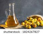 Glass Bottle Of Hawthorn...