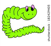 Segmented worms cartoon