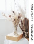 Beautiful Dried Flowers In A...