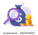 money finance savings check... | Shutterstock .eps vector #1824418547