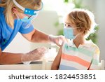 Coronavirus vaccination. covid...