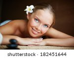 portrait of young female ready... | Shutterstock . vector #182451644