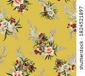 pink grey and brown vector... | Shutterstock .eps vector #1824521897