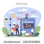 chemistry studying concept....   Shutterstock .eps vector #1824534881