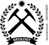 Day Geology Emblem Of Two...