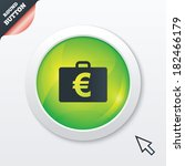 case with euro eur sign icon....