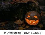 Spooky Jack O' Lantern With...