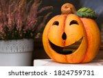 A Ceramic Halloween Jack O...