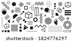 abstract and trendy modern...   Shutterstock .eps vector #1824776297