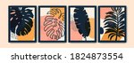 creative art composition with... | Shutterstock .eps vector #1824873554