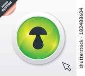 mushroom sign icon. boletus...